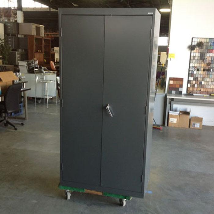 Advanced Liquidators 2 Door Metal Storage Cabinet 72h X 36